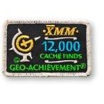 12000 Finds Geo-Achievement Patch